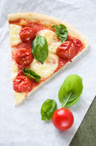 pizza low fat