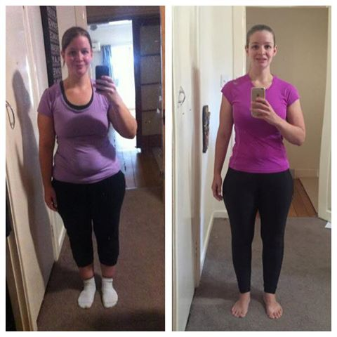 Terrie Loses 21kgs In Her First Year With Lose Baby Weight