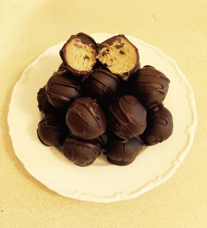 Lose Baby Weight- Cookie Dough Truffles
