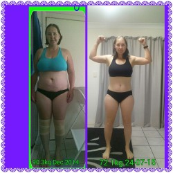 Lose Baby Weight-19kg Loss