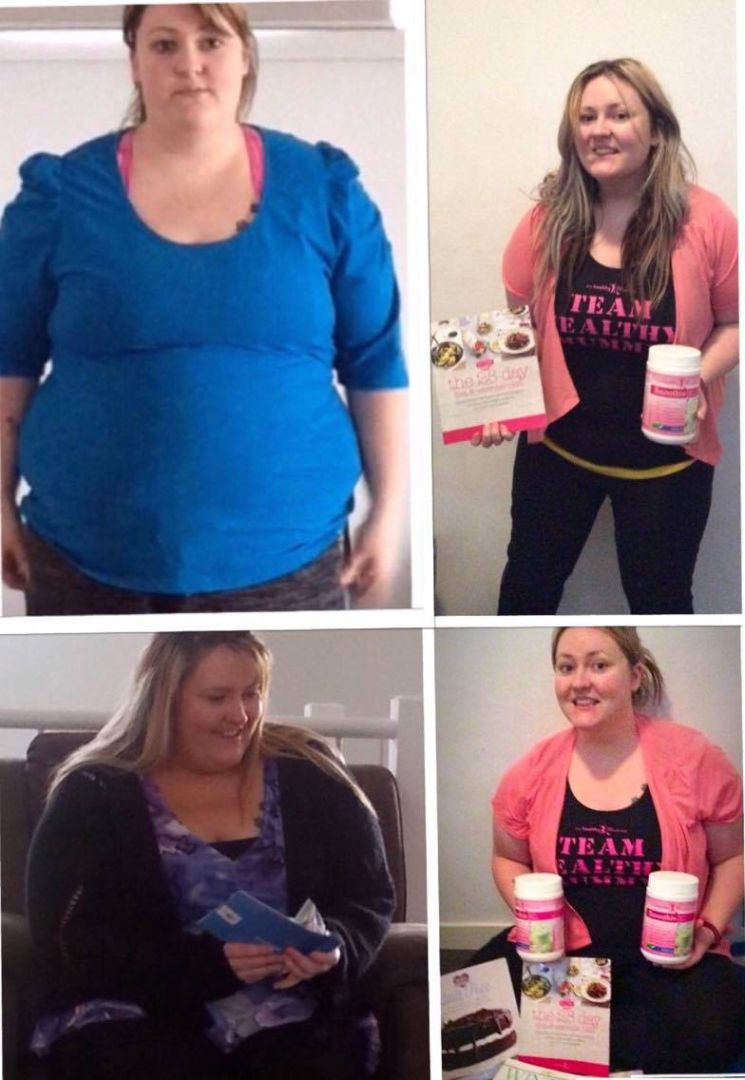 Lose Baby Weight 49kg Loss