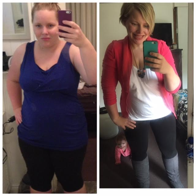 Lose Baby Weight 34kg loss