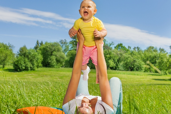 5 tips for exercising with the kids