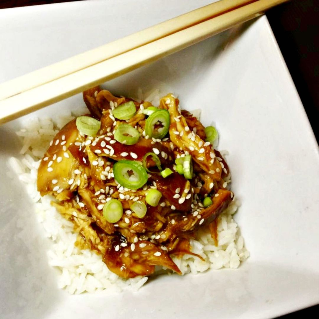 Healthy slow cooked asian chicken lose baby weight rice healthy slow cooked asian chicken forumfinder Gallery