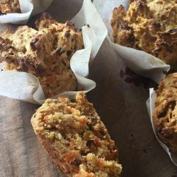 Carrot & Date Wholemeal Muffins