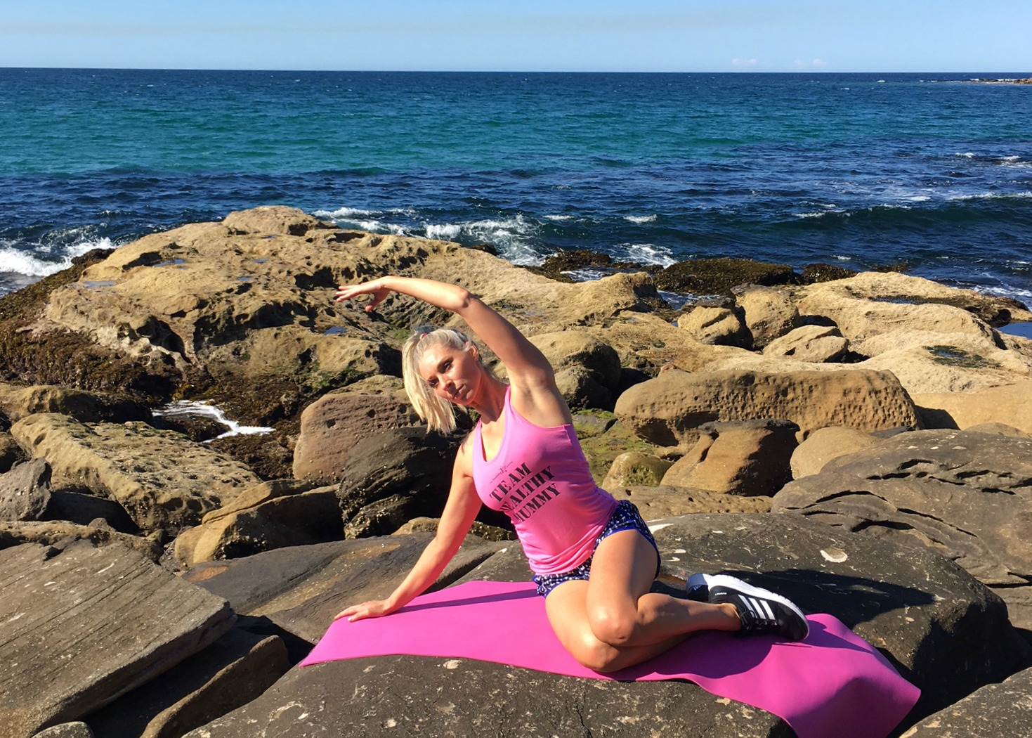 yoga moves to tone your butt and thighs - mermaid