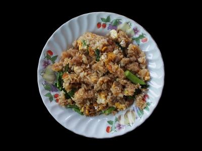 how to make simple nasi goreng