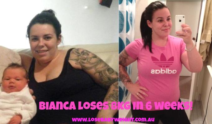 Bianca's weight loss