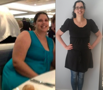 How much weight did you lose 1 month postpartum
