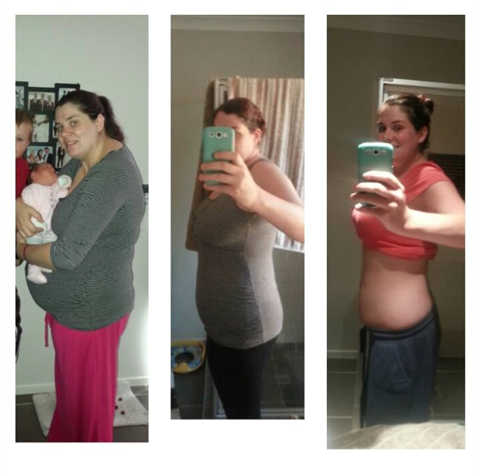 Erin Has Lost 39kg With Lose Baby Weight