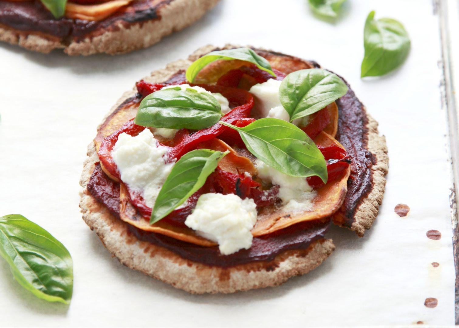 Vegetarian Ricotta Pizza