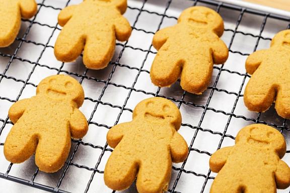 sugar free gingerbread people
