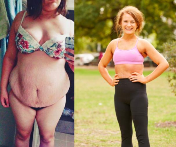 Lauren Loses 46kgs