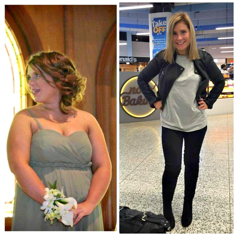 Flash back Friday weight loss results - Rae