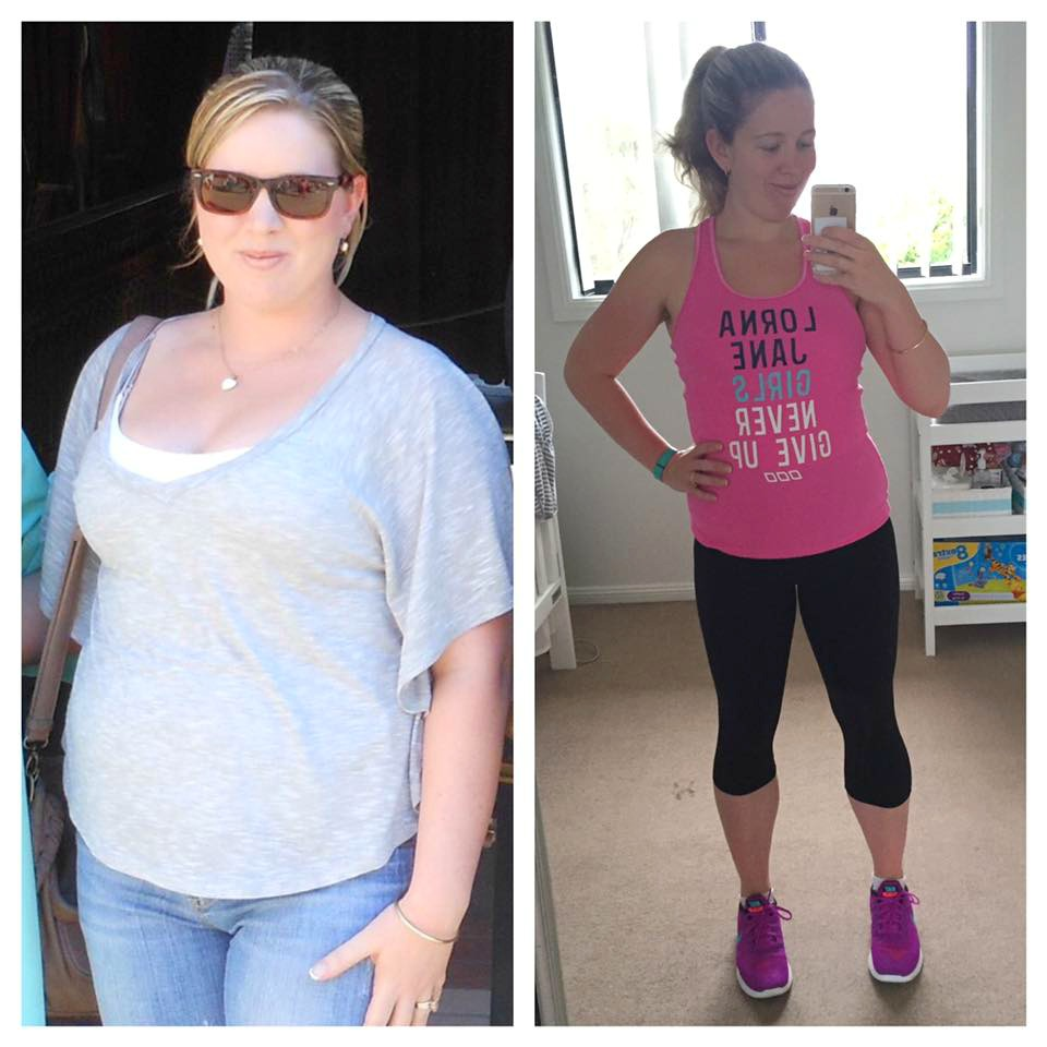 Flash back Friday weight loss results - Robyn Jurd