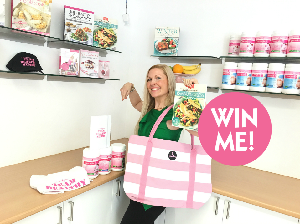Win a healthy mummy prize pack worth $315