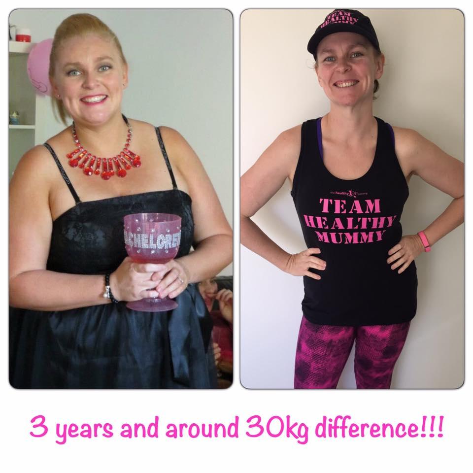 Brooke Bregg loses 30kg