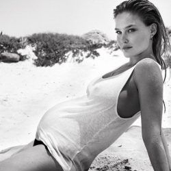 Bar-Refaeli-Baby-Bump-Bikini-Instagram-Photo-2016