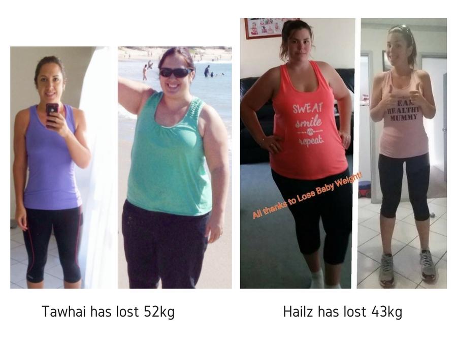Tawhai has lost 52kg (1)