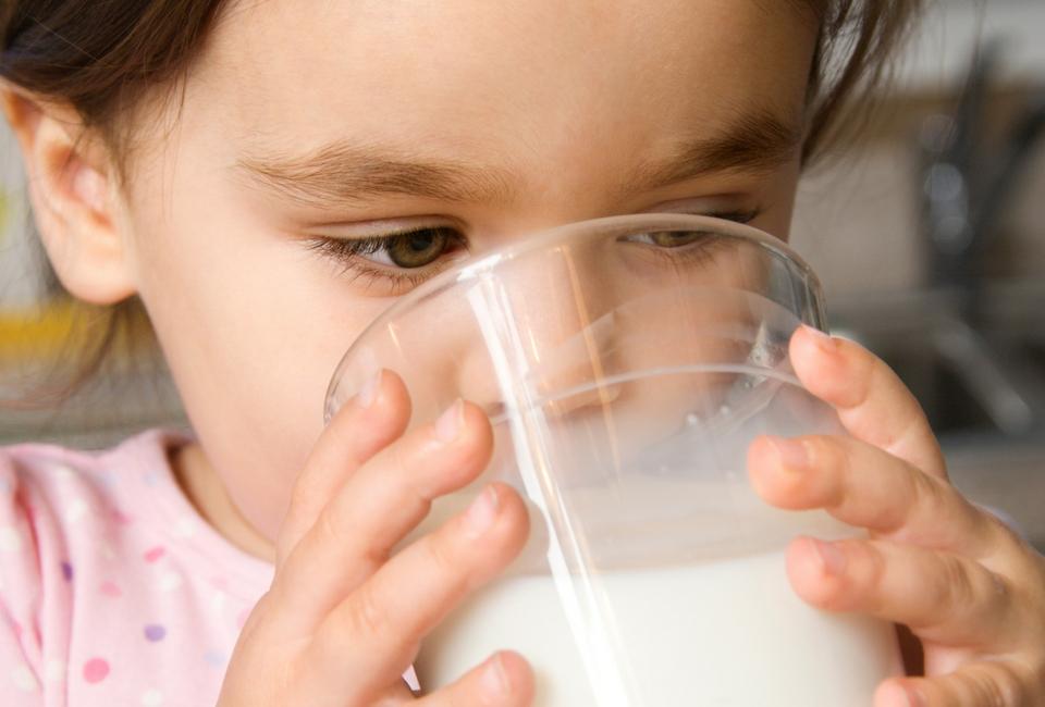 How much milk should children be getting