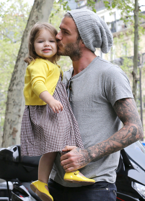 healthy mummy eye candy - david beckham