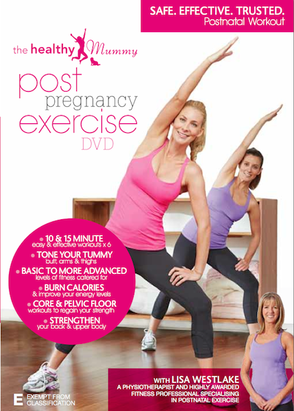 The Post Pregnancy Exercise DVD