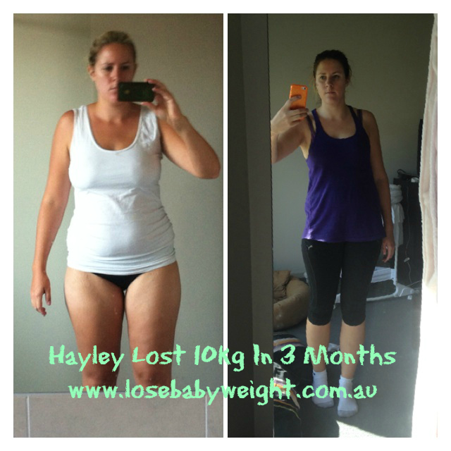 lose baby weight in 1 month
