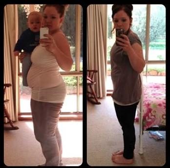 Kat's Motivating Mum Update - Lose Baby Weight