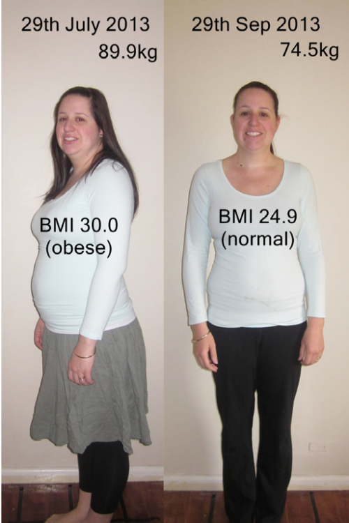 Carolyn Loses 15kg - Lose Baby Weight