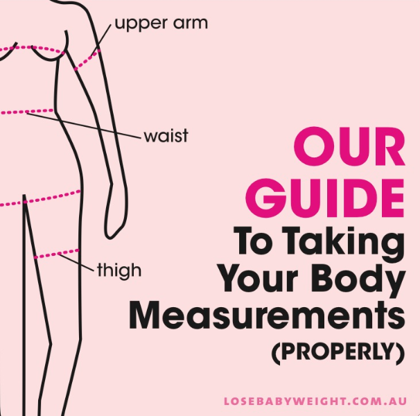 how to take your body measurements  properly